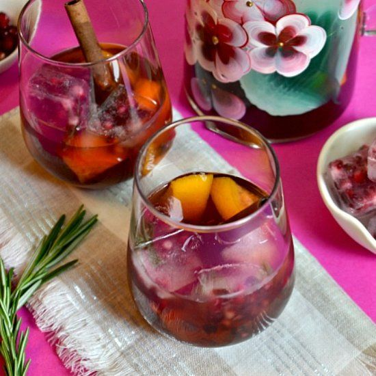 Mulled Chilled Pomegranate Wine | Foodgawker | Pinterest