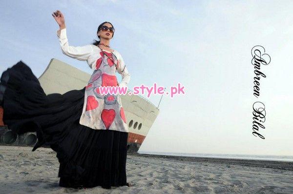 valentine's day pakistani dresses