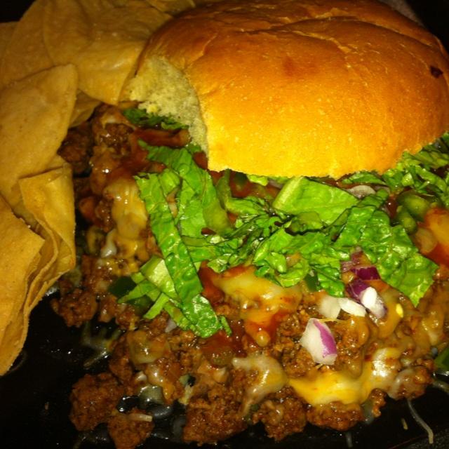 Taco Burger | Food/Drink | Pinterest