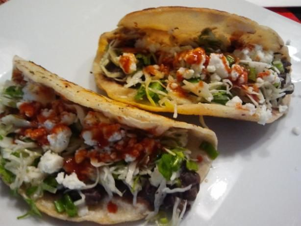 Crispy Black Bean Tacos With Feta & Cabbage Slaw. Photo by sofie-a ...