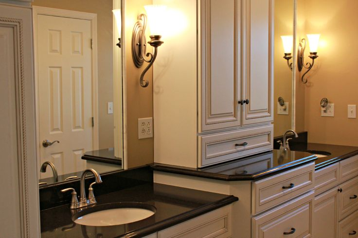 Cream Amp Black Bathroom Wdc Bathroom Designs Pinterest