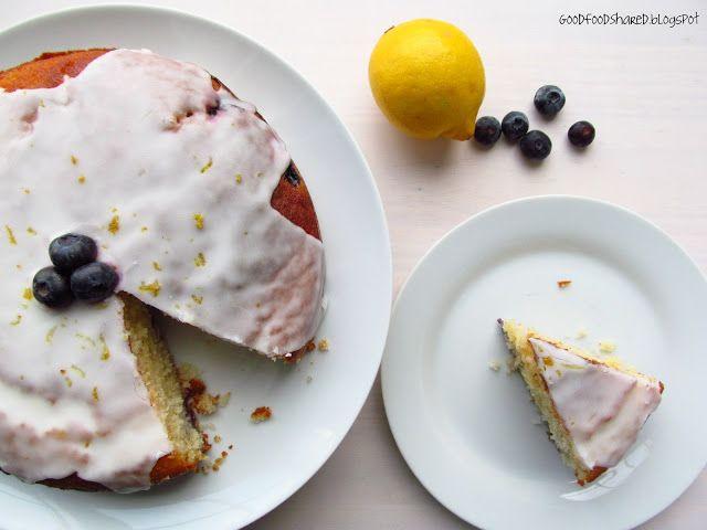 lemon - blueberry yoghurt cake | Veggie meals, deserts and drinks | P ...