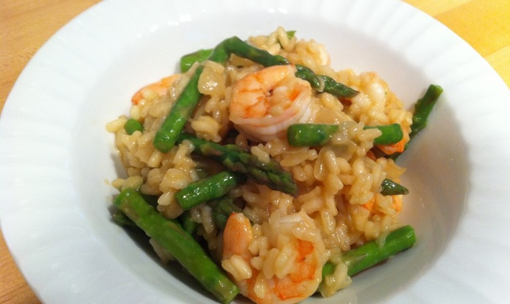 Shrimp and Asparagus Risotto | Food | Pinterest