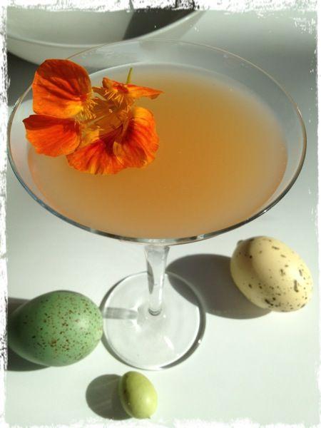 Lillet Rose Spring Cocktail | Michelle's Cocktail Board | Pinterest