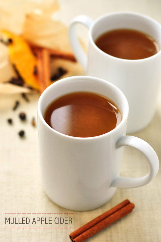 Mulled apple cider. Guaranteed to make your house smell like Christmas ...