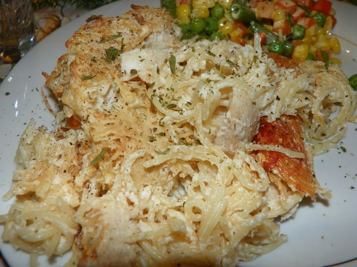 Chicken Tetrazzini | GREAT FOOD IDEAS | Pinterest