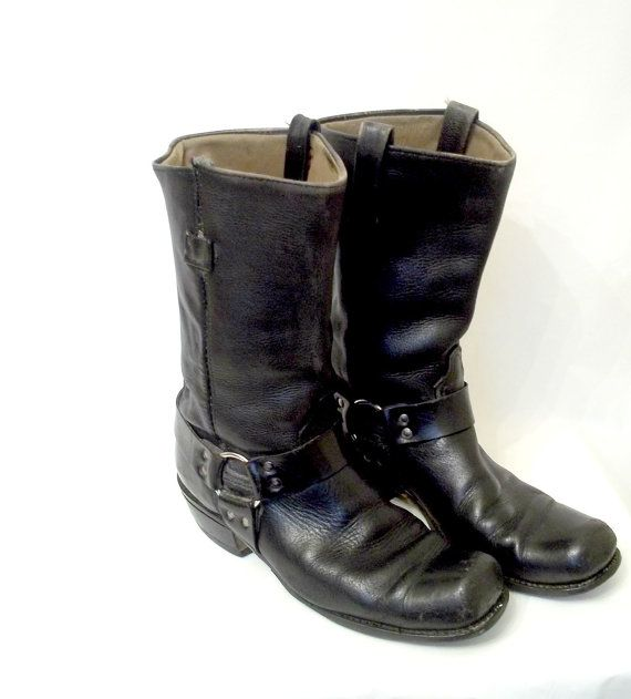 reserved for rogers vintage s motorcycle boots
