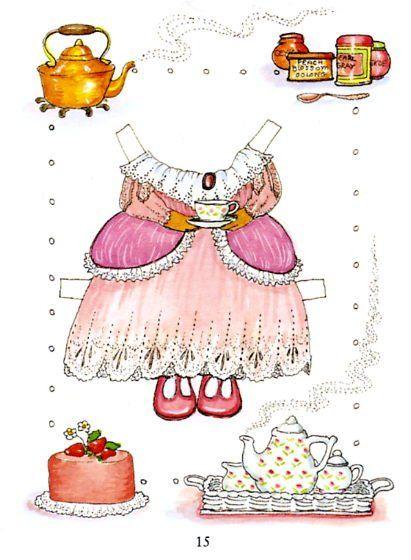 Mouse paper dolls 15