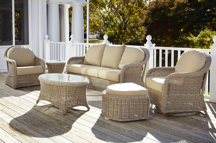 Pin By Inside Out Home Furnishings On Outdoor Wicker Furniture Pint