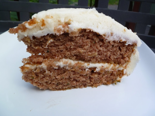 ... ambitious. born imaginative.: Zucchini Cake with Cream Cheese Frosting