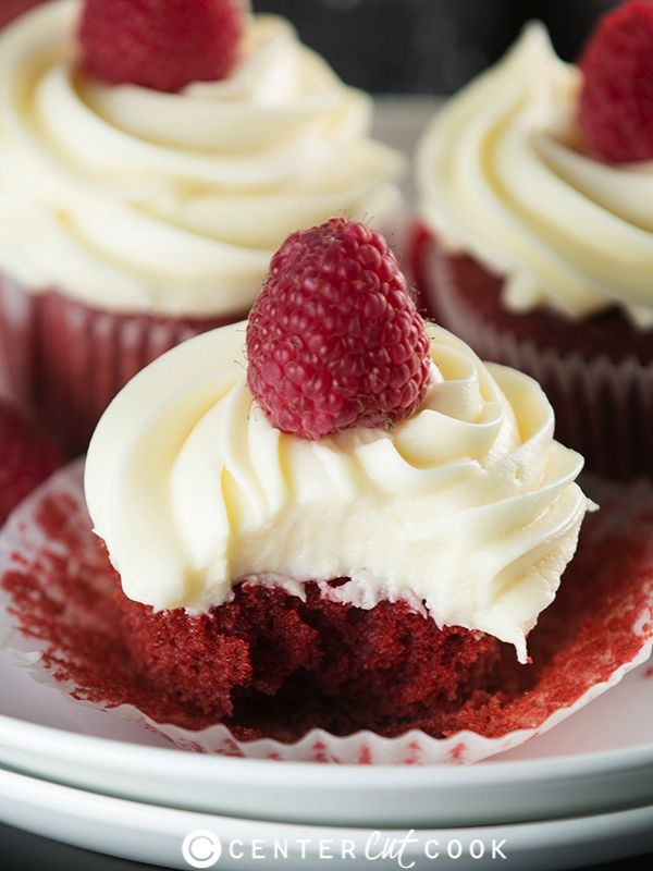 Red Velvet Cupcakes with Cream Cheese Frosting | Recipe