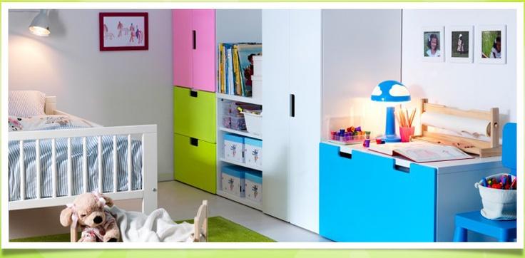 ikea stuva home inspiratie voor kinderkamer pinterest. Black Bedroom Furniture Sets. Home Design Ideas