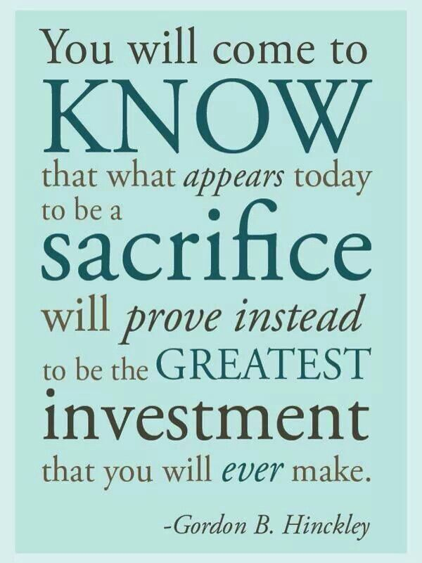 quotes about sacrifice for family quotesgram