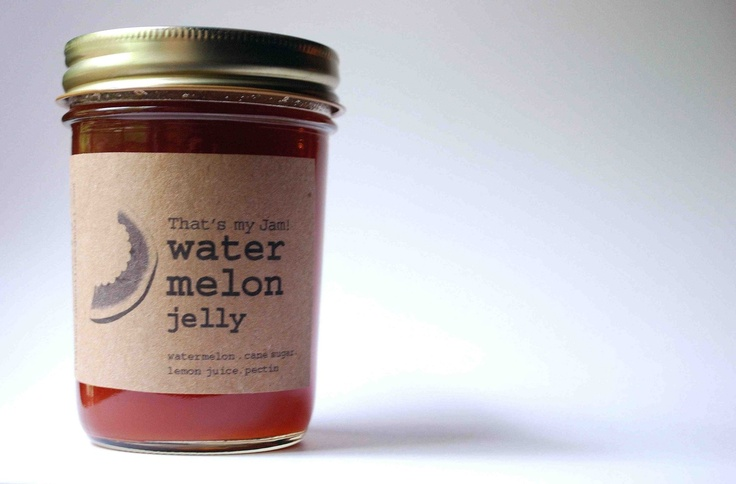 I would love to try this --Watermelon Jelly