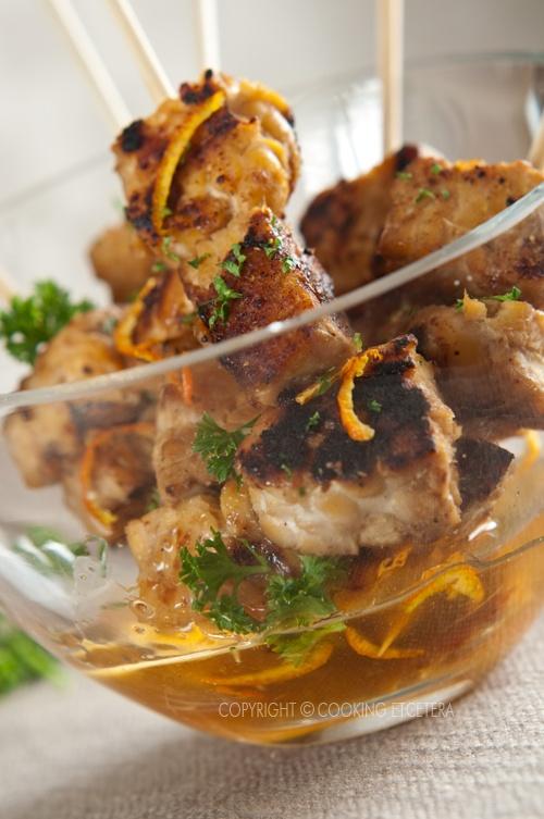 Satay Tempeh with Orange Glaze   Food photography   Pinterest