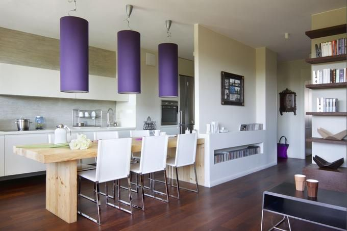 kuchnia z salonem