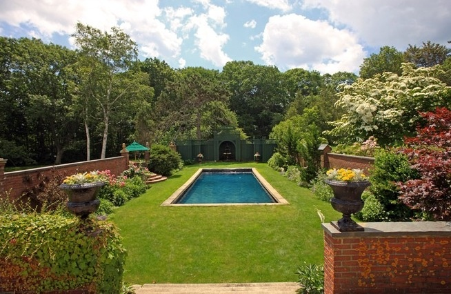 english garden pool maison pinterest