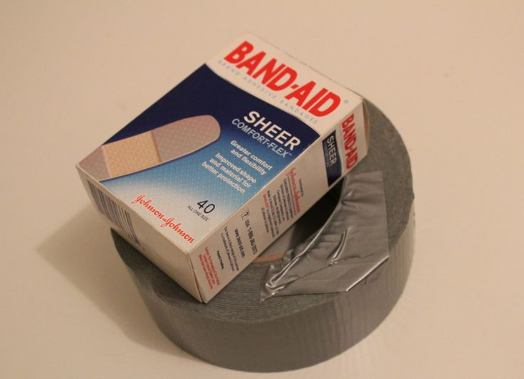 Blister solution - DUCT TAPE - link to 'how to'...