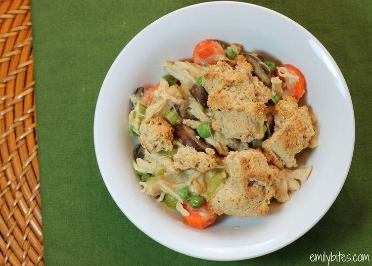 Chicken Pot Pie Casserole » Emily Bites