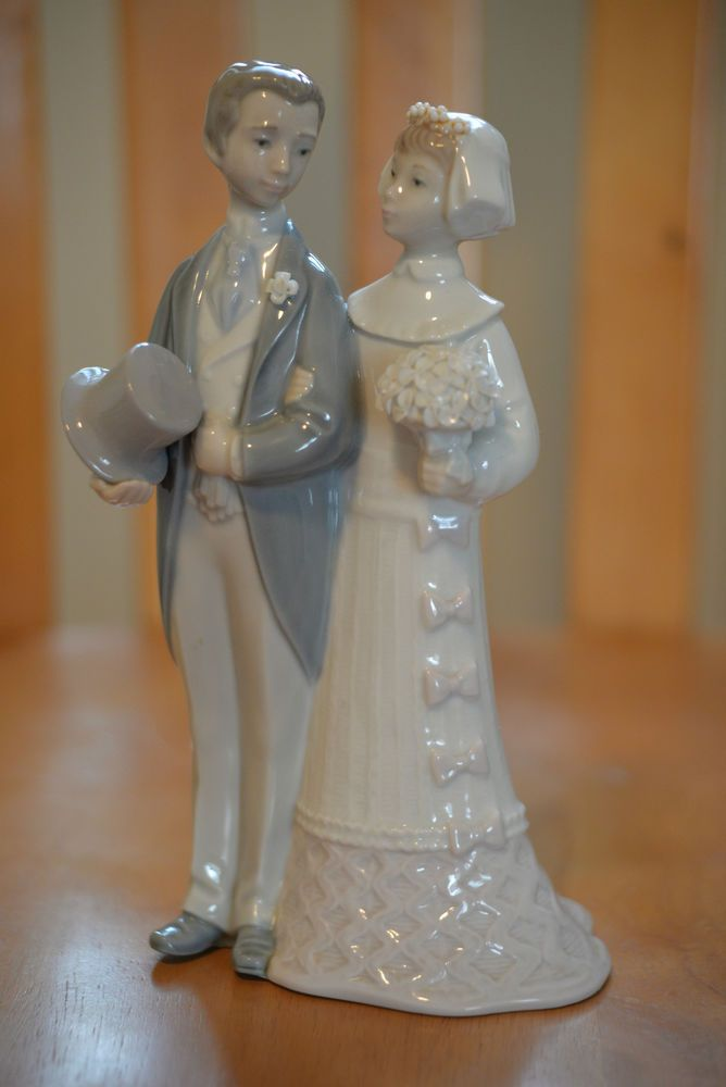 Pin Vintage Lladro Wedding Figurine 4808 Retired Cake Topper Cake On Pinterest