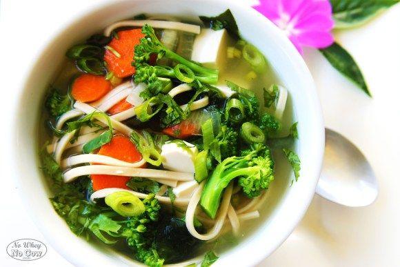 Miso Udon Soup | Asian Cuisine | Pinterest