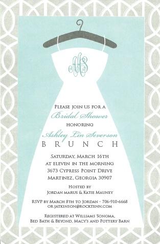 bridal shower brunch invitation wording bridal shower ideas