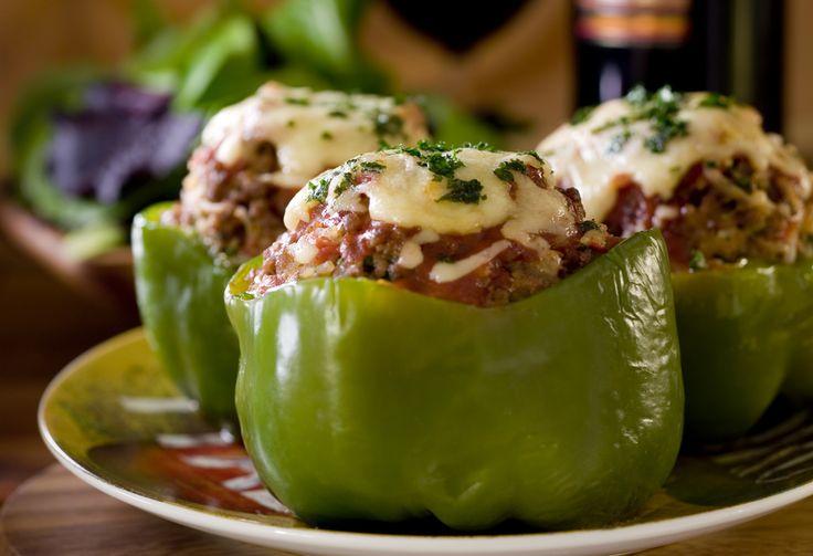 Crock Pot Stuffed Peppers | crockpot meals for busy people | Pinterest