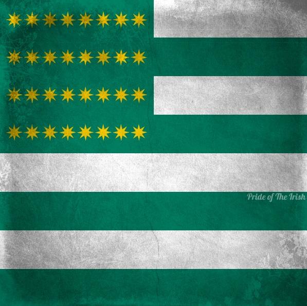 history of irish flag