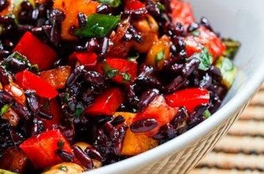 Thai Black Rice Salad — Punchfork