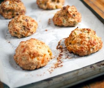 Old Chathams Cheddar and Scallion Biscuits | James Beard Foundation