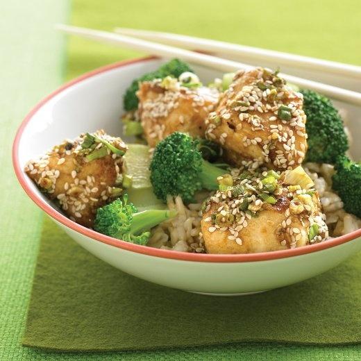 Lighter Sesame Chicken | Recipe