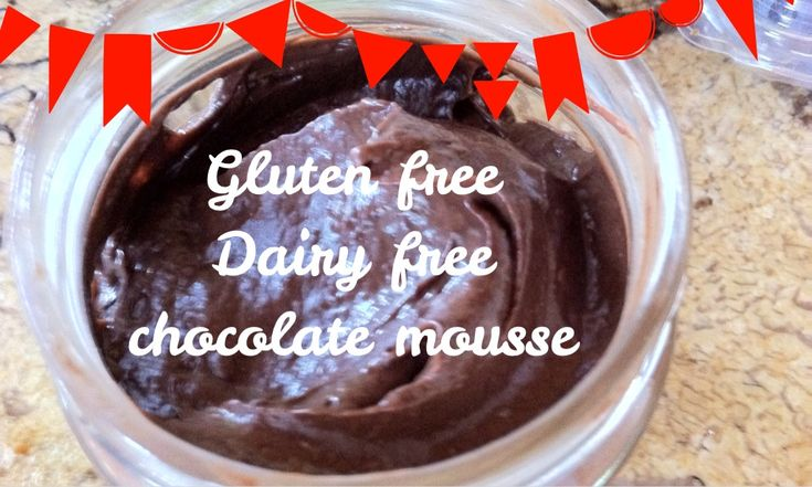 ... LowCarb chocolate mousse with avocado & banana - beautiful