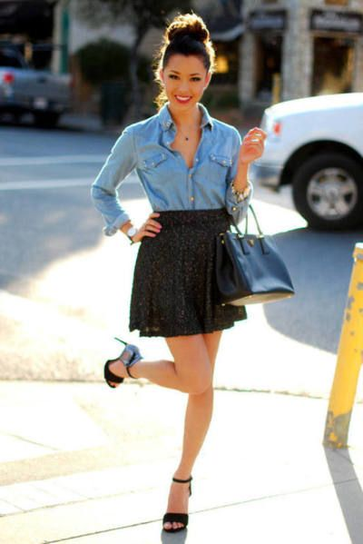 skirts that transition into fall