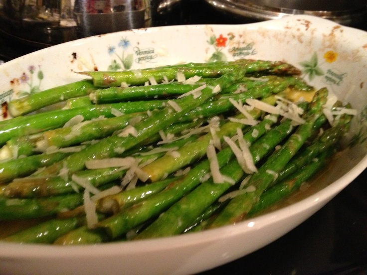 Lemon-Parmesan Asparagus | Cooking | Pinterest