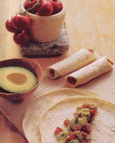 Vegetable-Salad Burritos | Recipe