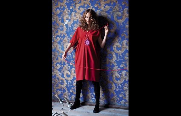 robe asymétrique - patron gratuit