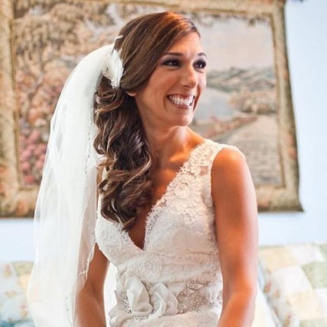 Wedding Hair. Side Curls. | Wedding | Pinterest