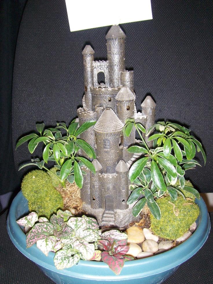 Fairy garden fish tank stuff gardening ideas pinterest for Fish tank garden