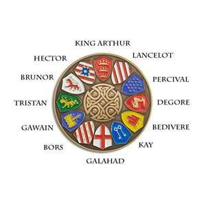 Round table camelot and avalon pinterest - King arthur s round table found ...