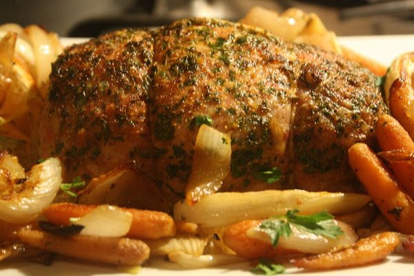 Roast Pork Loin with Oranges Fennel and Spices - full details→ http ...