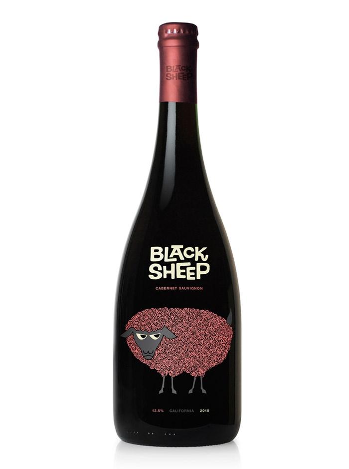 Black Sheep wine bottle. | Bottles | Pinterest