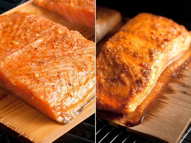 Coriander Grilled Salmon with Cilantro-Yogurt Sauce   Recipe