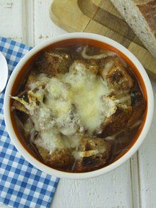 Ooey-Gooey French Onion Soup