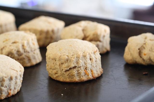 Orange whole-wheat scones | Eating | Pinterest