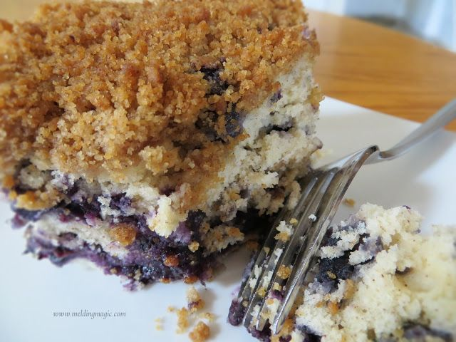 Blueberry Crumb Coffee Cake | RECIPES I WANT TO TRY | Pinterest