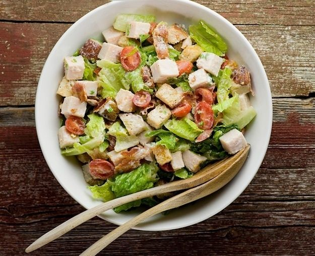 Turkey club salad / 17 Important Things To Do With Thanksgiving ...
