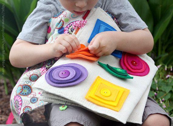 Развивающие игрушки для детей 1-3 лет своими руками 28