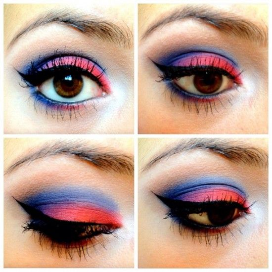 memorial day makeup ideas
