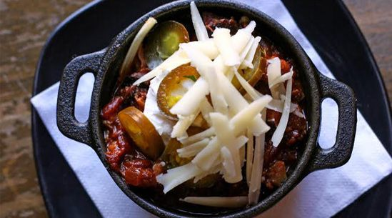 Halftime Hold-Overs Barbecue Brisket Chili
