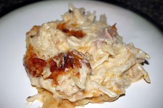 ... that easy to make...: Recipe #148: Cheesy Ham and Hash Brown Casserole